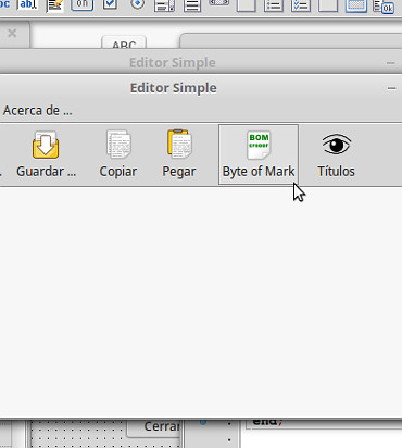 Editor simple en Lazarus - 05